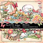 Bloom Embellishment Pack-$3.49 (Ettes and Company by Fayette)