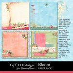 Bloom Short Stack Paper Pack-$2.49 (Ettes and Company by Fayette)