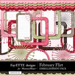 February Flirt Frames and More-$1.99 (Fayette Designs)