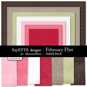 February flirt textured pp medium