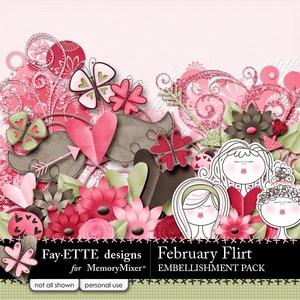 February flirt emb medium