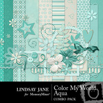 Color My World Aqua Combo Pack-$3.49 (Lindsay Jane)