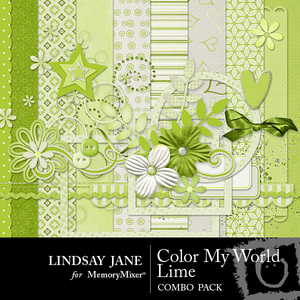 Color my world lime combo medium