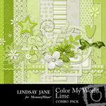Color My World Lime Combo Pack-$3.49 (Lindsay Jane)