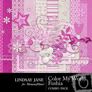 Color my world fushia combo medium