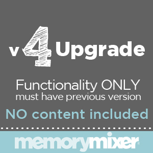 MemoryMixer V4 Upgrade Download-$19.95