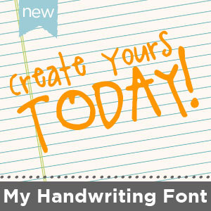 Your Handwriting Font-$7.95