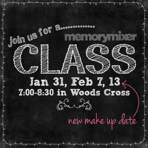 Join us for a MemoryMixer digital scrapbooking class at our Office in Woods Cross