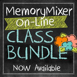 Memorymixer digital scrapbooking downloadable class bundle small
