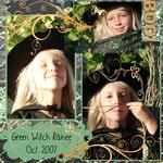 Green Witch Sissy (annirana)