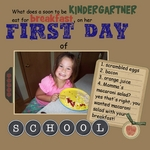 First Day of Kinder Breakfast (Jesse77)