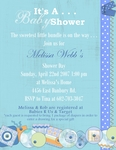 Baby Shower Invite (Kristan)