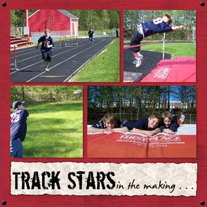 Track stars 500 medium