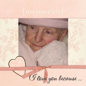 I love you because p01 medium