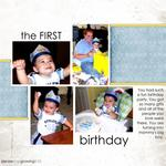 First Birthday (celestegrover)