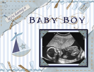 Baby boy ultrasound p002 medium