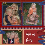 4th of July Girls (lorivanorman)