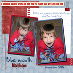 Blue mouth Nathan (annirana)