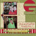 Nick & Nathan Christmas 2006 (annirana)