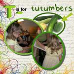T is for tutumbers. (audosborne)