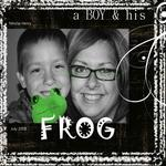 A Boy and his Frog... (pinkgirl76)