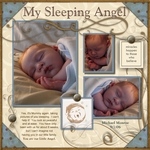 Sleeping Angel (scrapmommy)