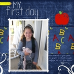 My First day of First Grade (Jesse77)