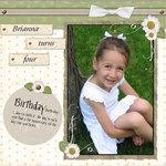 Brianna turns four (Deni)