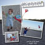 Background challenge - kite at the beach (mjhonsaker)
