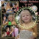 Rainee's 7th birthday 2nd page (annirana)
