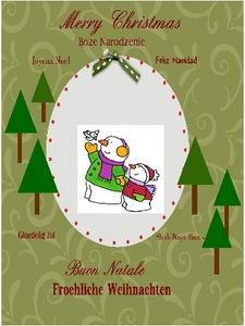 Christmas card challenge lori m medium