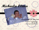 michaela baby announcement (slugmo19)
