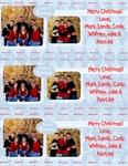 3 Photo Christmas Cards per page (bandysarton)
