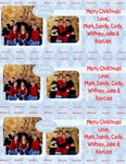 3 Photo Christmas Cards per page (bandysarton)