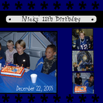 Nicks' 11th birthday (annirana)