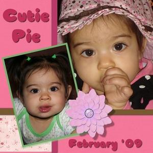 Cutie pie large medium