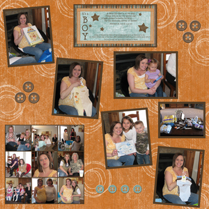 Baby shower page medium