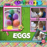 Coloring Easter eggs (annefulling)