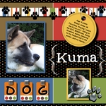 Kuma Dog (scrapmommy)