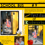 Nathan's 1st day of Kinder (annirana)