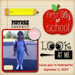 First Day of School-Ever! (craftyjac)