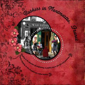 Montmartre buskers medium