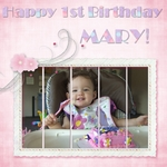 First Birthday! (jonyce)