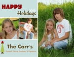 CHRISTMAS  CARD (JENNA)