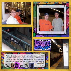 Subway 3 medium