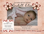 Kendall's Birth Announcement (cherriehayes)