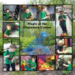 Magic at the Discovery Center (mjhonsaker)