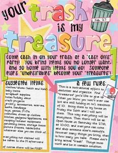Your trash is my treasure medium