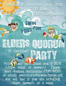 Eq swim party medium