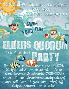 Eq swim party medium